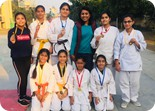 GREENKNIGHTS BROUGHT WON MEDALS IN LSSC KARATE CHAMPIONSHIP!